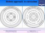 holistic approach to curriculum