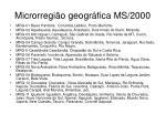microrregi o geogr fica ms 2000
