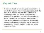 magnetic flow