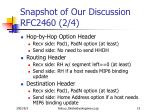 snapshot of our discussion rfc2460 2 4