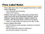 flow label rules