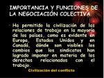 importancia y funciones de la negociaci n colectiva