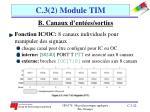 c 3 2 module tim11