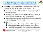 c 3 4 comparer des sorties oc8