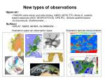 new types of observations