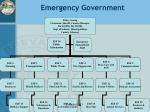 emergency government