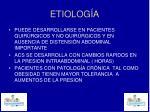 etiolog a