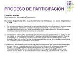 proceso de participaci n1