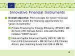 innovative financial instruments1