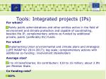 tools integrated projects ips