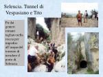 seleucia tunnel di vespasiano e tito