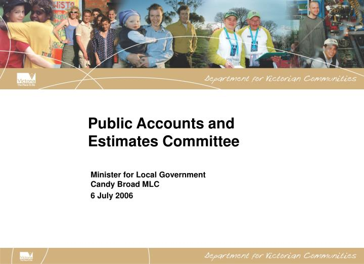 public accounts and estimates committee n.
