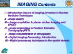 imaging contents