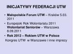 inicjatywy federacji utw2