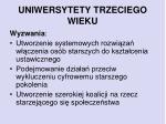 uniwersytety trzeciego wieku1