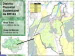 distrito florestal br 163