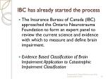 ibc has already started the process