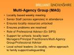 multi agency group mag