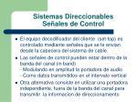 sistemas direccionables se ales de control