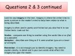 questions 2 3 continued