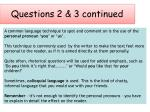 questions 2 3 continued2