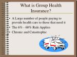 what is group health insurance