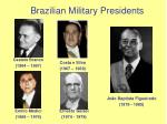 brazilian military presidents