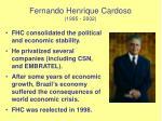fernando henrique cardoso 1995 2002