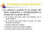 estrategias simple sint tica 1