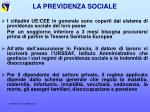 la previdenza sociale