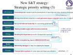 n ew s t s trategy strategic priority setting 3