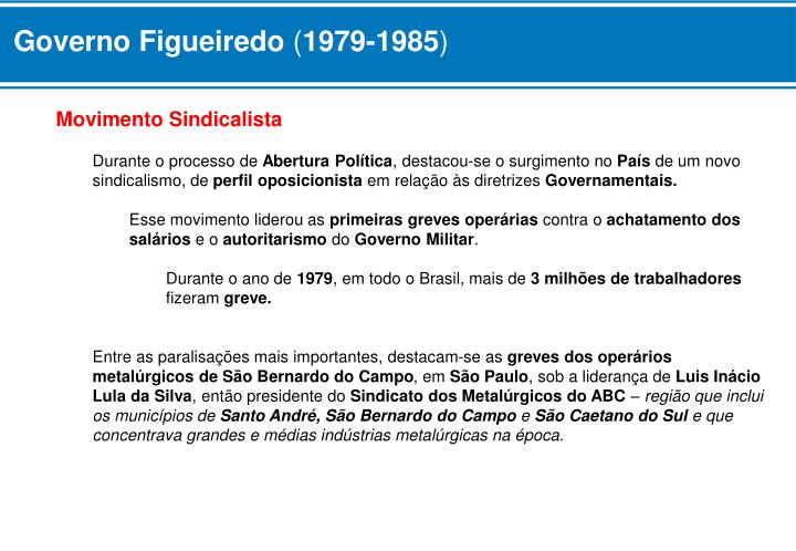 Governo Figueiredo