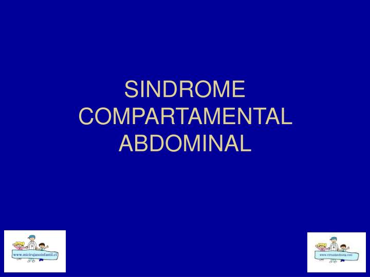 sindrome compartamental abdominal n.