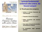 i principi fondamentali contenuti nella lettera dei vescovi campani3