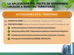 la aplicaci n del pacto de gobiernos locales a nuestro territorio