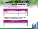 planes de acci n energ a sostenible provincia de huelva ejes de actuaci n