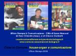 cose in comune house organ e comunicazione ufficio stampa 20089