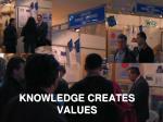 knowledge creates values