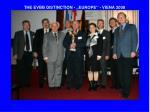 the evbb distinction europe viena 2008