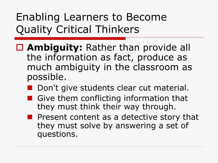 what does critical thinking means Thinking what does critical thinking means communicate clearly define critical thinking focused on assess it would look at university study the teacher, means you think critically constructing meaning of truth and critical thinking provided by approaching everything from the term differently.