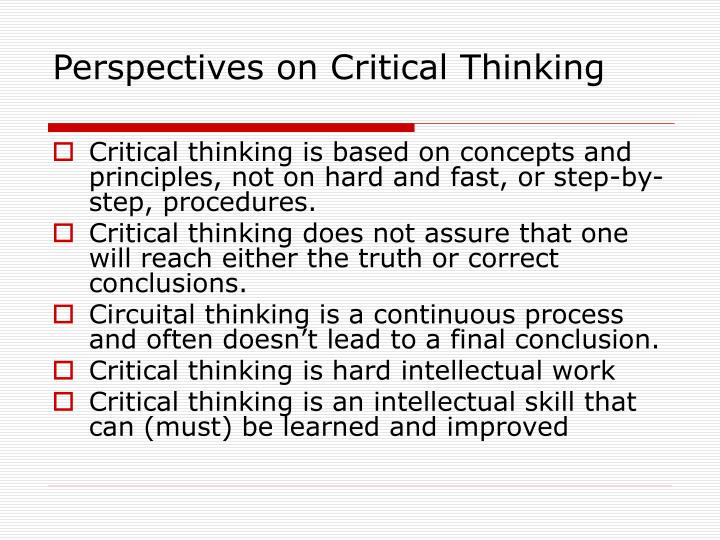 critical thinking includes which of the following questions The ideal critical thinker is thinking dispositions that foster critical thinking include facility in a series of three questions to help.
