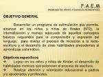 p a e m programa de apoyo a escuelas municipales13