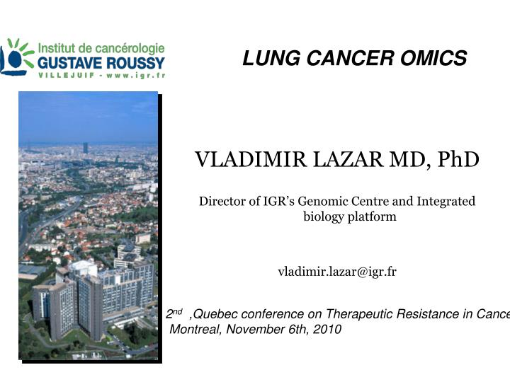 lung cancer omics n.