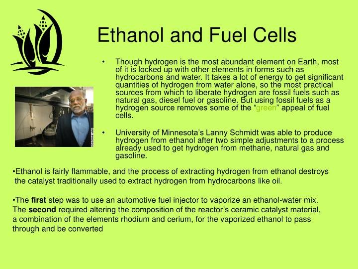 Ethanol and Fuel Cells