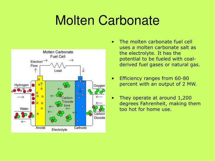 Molten carbonate