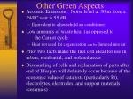other green aspects