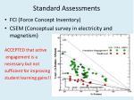 standard assessments