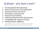 gratitude why does it work