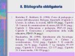 8 bibliografia obbligatoria