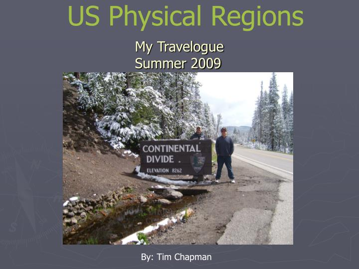us physical regions n.